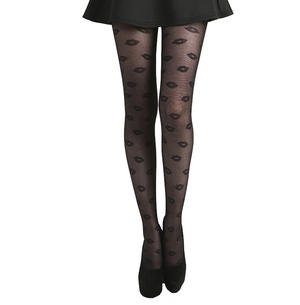 Lip Design- Pamela Mann Tights - Black Thumbnail 2