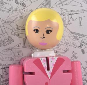 Lady Penelope Flexi Figure - Thunderbirds Classic Action Figure Thumbnail 2