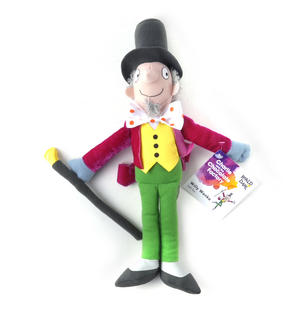 Roald Dahl 30cm Willy Wonka Soft Toy Thumbnail 2