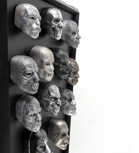 Death Eater Mask Collection -  Noble Collection Harry Potter Wall Mount