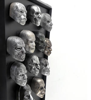 Death Eater Mask Collection -  Noble Collection Harry Potter Wall Mount Thumbnail 1