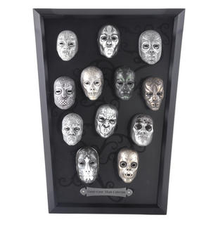Death Eater Mask Collection -  Noble Collection Harry Potter Wall Mount Thumbnail 3