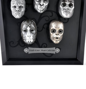 Death Eater Mask Collection -  Noble Collection Harry Potter Wall Mount Thumbnail 5