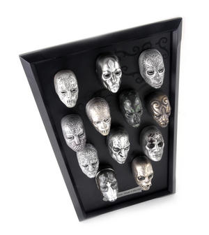 Death Eater Mask Collection -  Noble Collection Harry Potter Wall Mount Thumbnail 6