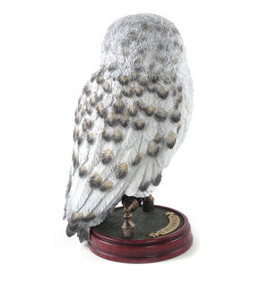 "Hedwig -  Handpainted Sculpture 9.5"" Noble Collection Harry Potter Replica Thumbnail 4"