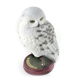 "Hedwig -  Handpainted Sculpture 9.5"" Noble Collection Harry Potter Replica Thumbnail 8"