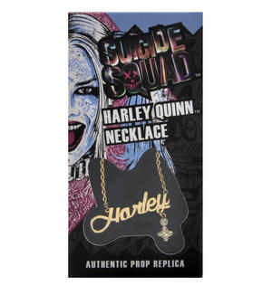 Harley Quinn - Suicide Squad Necklace - Noble Collection Authentic Prop Replica Thumbnail 5