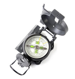 Pocket Lensatic Compass Thumbnail 2