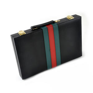 Large Attaché Backgammon - Classic Travel Companion in an Attaché Case Thumbnail 4
