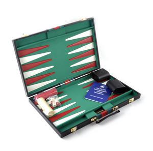 Attaché Backgammon - Classic Travel Companion in an Attaché Case Thumbnail 1