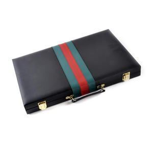 Attaché Backgammon - Classic Travel Companion in an Attaché Case Thumbnail 5