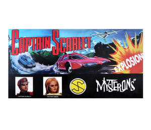 Captain Scarlet - The Classic 1960s Supermarionation TV Series Retro Board Game Thumbnail 1