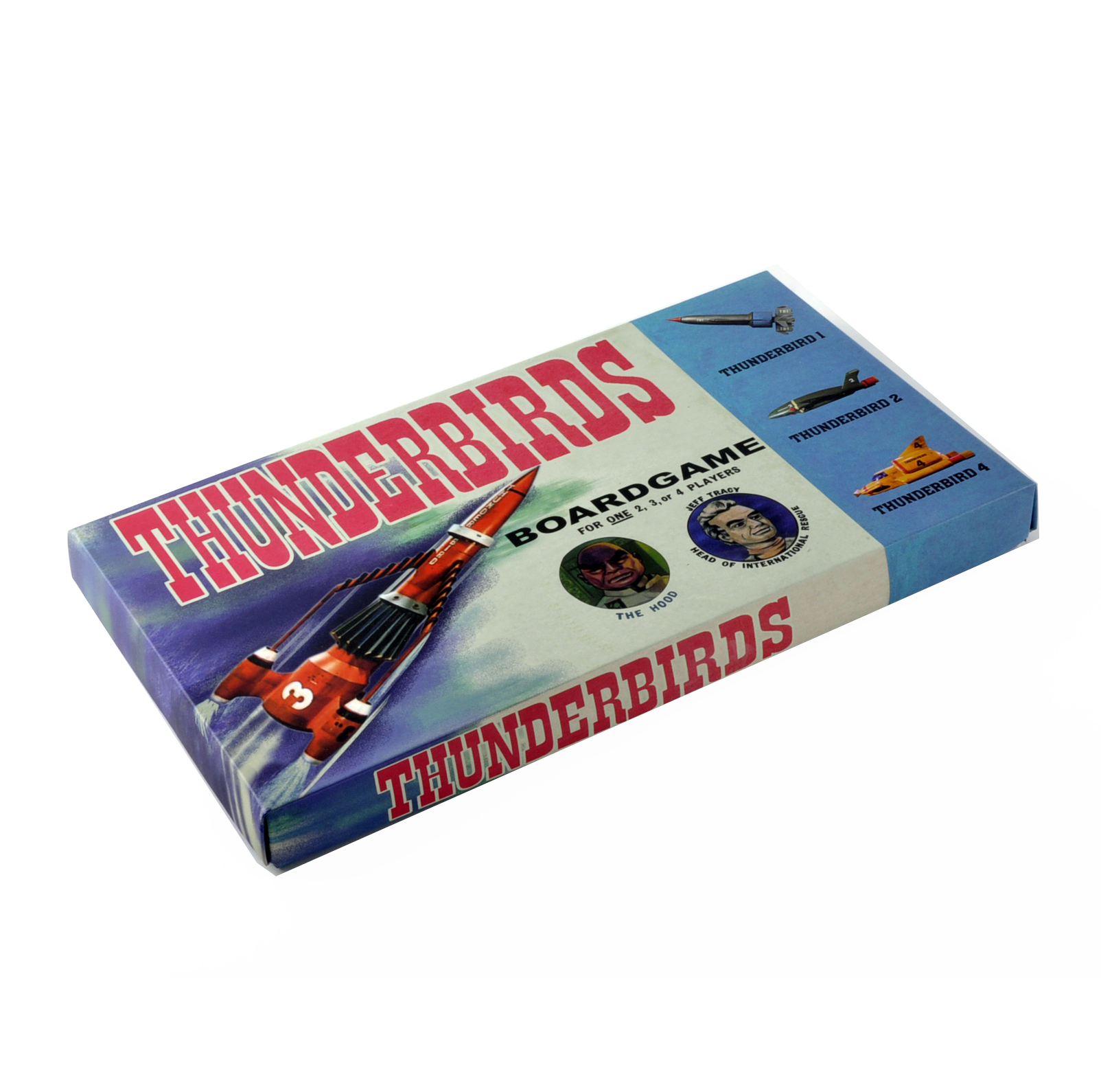 thunderbirds the classic 1960s supermarionation tv series retro board game pink cat shop. Black Bedroom Furniture Sets. Home Design Ideas