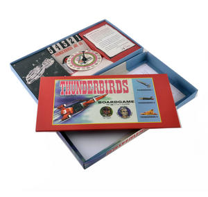Thunderbirds - The Classic 1960s Supermarionation TV Series Retro Board Game Thumbnail 2