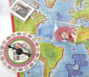 Thunderbirds - The Classic 1960s Supermarionation TV Series Retro Board Game Thumbnail 3