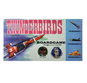 Thunderbirds - The Classic 1960s Supermarionation TV Series Retro Board Game Thumbnail 1