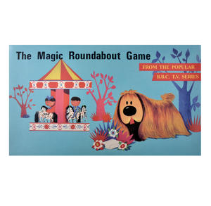 The Magic Roundabout - The Classic 1960s Children's Psychedelic TV Series Retro Board Game Thumbnail 1