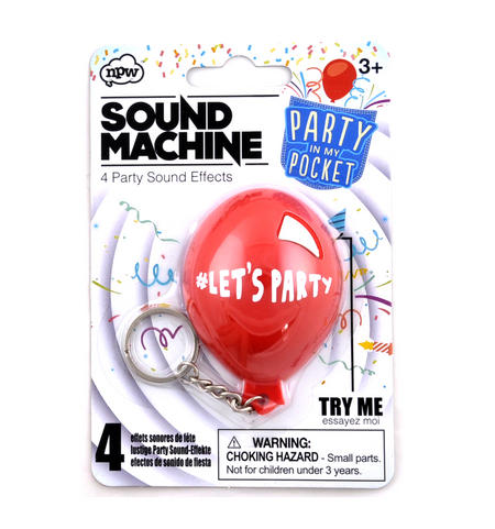 Party Sound Machine - Party in My Pocket Sound Effects