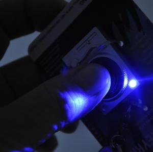 Turntable Light Up LED Keyring for DJs Thumbnail 2