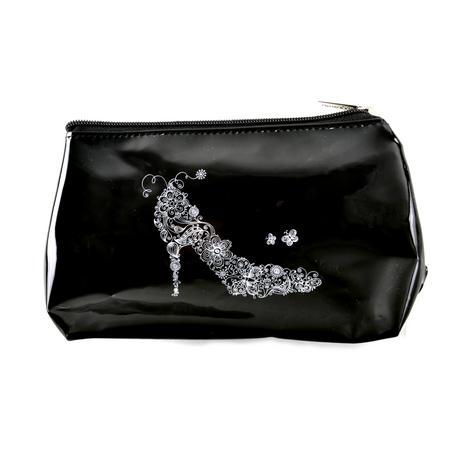 High Heel PVC Make Up Bag