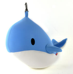 Zip & Flip Whale Pillow