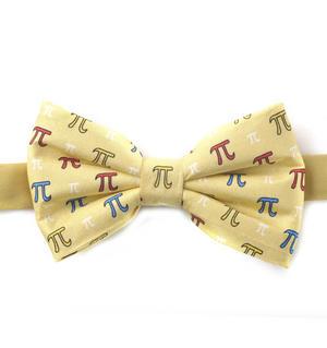 Pythagoras Bow Tie with Pi Design Thumbnail 1