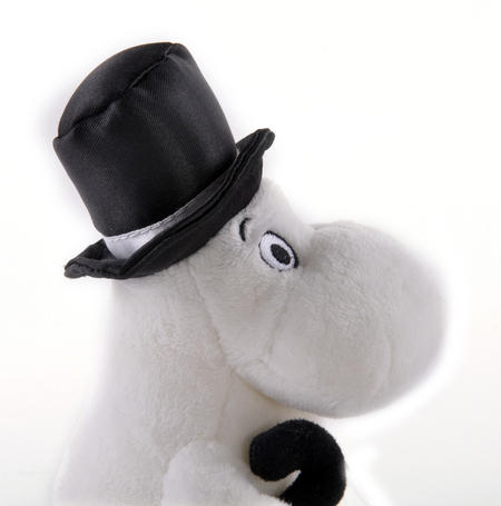 "Moominpapa - Moomins Soft Toy - 6.5"" of Mumintroll Fun"