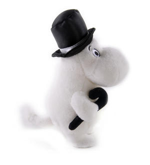"Moominpapa - Moomins Soft Toy - 6.5"" of Mumintroll Fun Thumbnail 2"