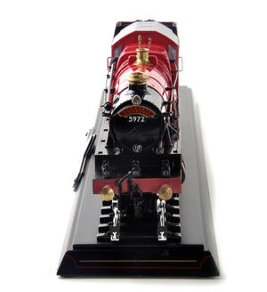 Harry Potter Hogwarts Express Die Cast Train Model and Base Thumbnail 3