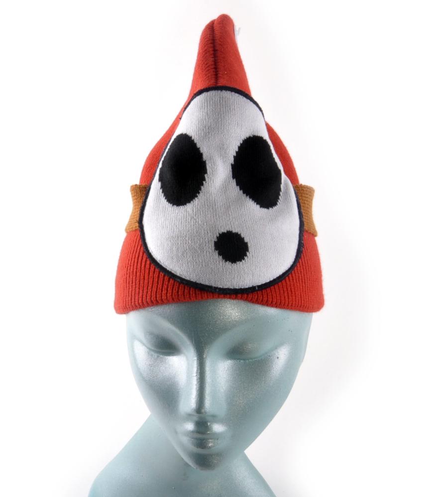 9181fe7421e Shy Guy Nintendo Super Mario Brothers Beanie Hat
