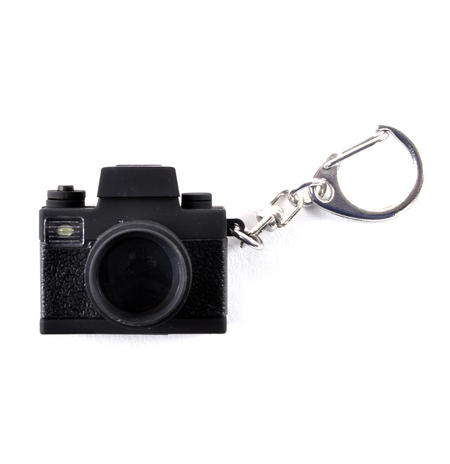 Camera Keyring With Super Bright LED Camera Flash & Shutter Sound