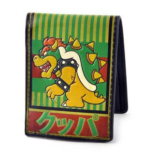 Nintendo Super Mario Brothers Bowser Kanji Wallet Thumbnail 2