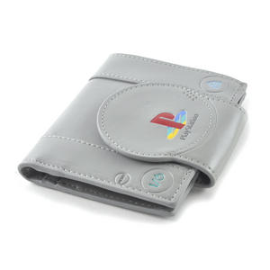 Play Station Deluxe PlayStation Shaped Bifold Wallet Thumbnail 2