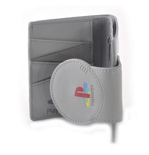 Play Station Deluxe PlayStation Shaped Bifold Wallet Thumbnail 4