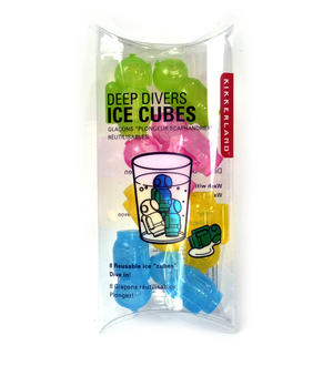 Deep Divers Ice Cubes - Reuseable Deep Sea Divers Thumbnail 3