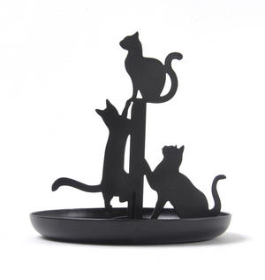 Black Cat Jewellery Stand Thumbnail 1