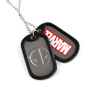 Deadpool Dog Tags Thumbnail 1