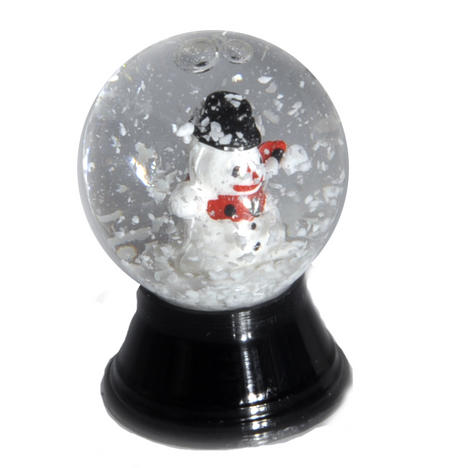 Snowman Vienna Snow Globe