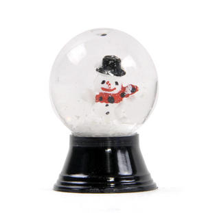 Snowman Vienna Snow Globe Thumbnail 3