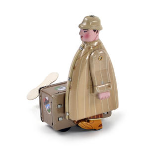 International Man of Mystery  - Classic Clockwork Collector's Toy Thumbnail 1