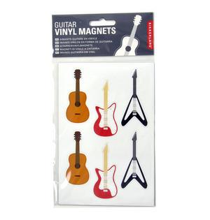 Electric Guitars - 6 Vinyl Magnets Thumbnail 2