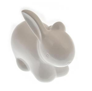Cotton Tail - Ceramic Cotton Wool Dispenser Bunny Rabbit Thumbnail 3