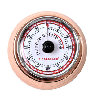 Magnetic Copper Kitchen Timer Thumbnail 1