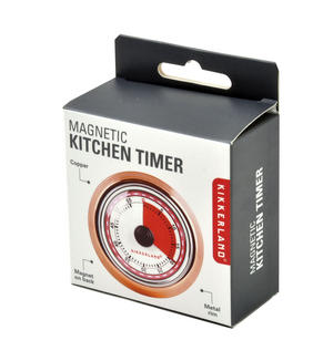 Magnetic Copper Kitchen Timer Thumbnail 3