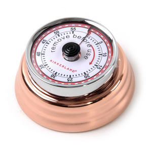 Magnetic Copper Kitchen Timer Thumbnail 4