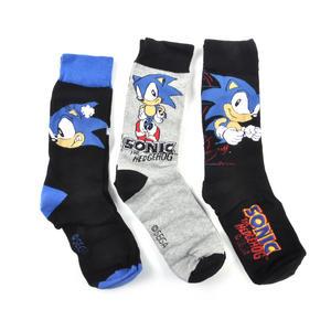 Sonic the Hedgehog Socks - 3 Pairs of Sonic Socks in Metal Presentation Box Thumbnail 3