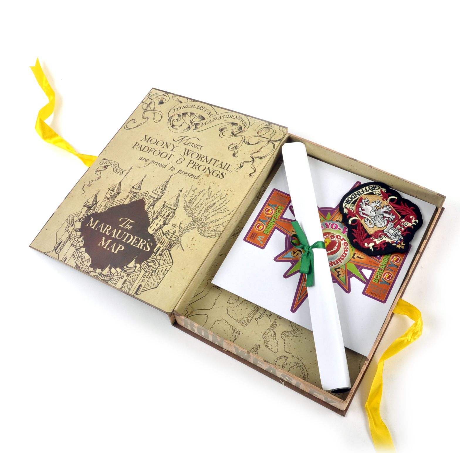 Ron weasley harry potter film artefact box a trove of replica ron weasley harry potter film artefact box a trove of replica harry potter documents and keepsakes bookmarktalkfo Image collections
