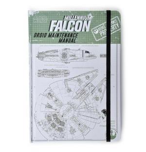 Star Wars Rogue 1 Millennium Falcon Droid Maintenance Manual Notebook Thumbnail 1
