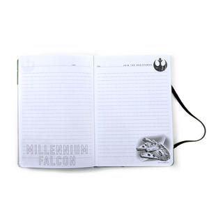 Star Wars Rogue 1 Millennium Falcon Droid Maintenance Manual Notebook Thumbnail 6