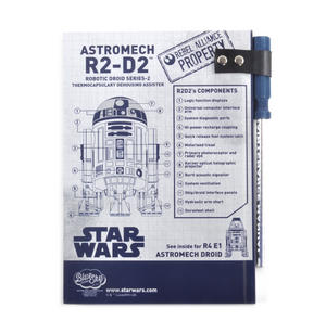 Star Wars R2 D2  Droid Maintenance Manual Notebook Thumbnail 6
